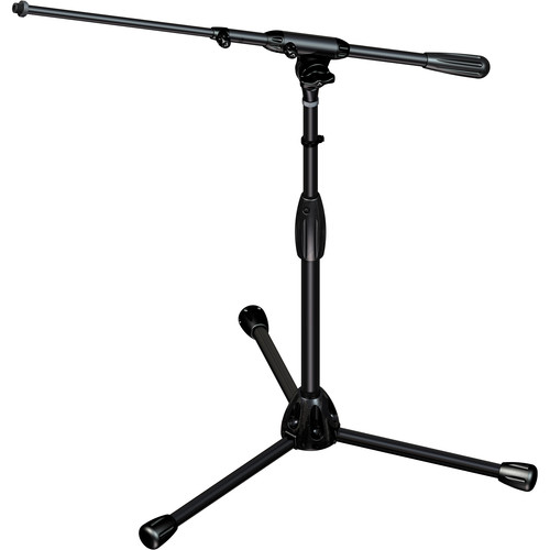 Ultimate Support TOUR-T-SHORT-T Professional Short Tripod Mic Stand with Telescopic Boom