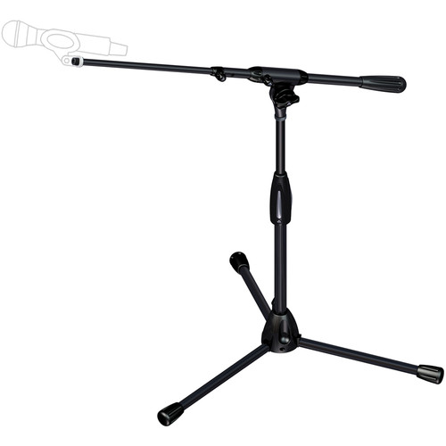 Ultimate Support PRO-T-SHORT-T Professional Short Tripod Mic Stand with Telescopic Boom