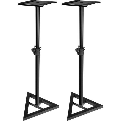 Ultimate Support JS-MS70 Studio Monitor Speaker Stands (Black, Pair)