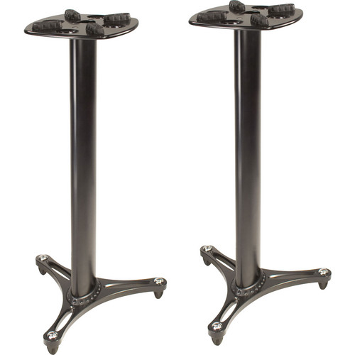 Ultimate Support MS-90/36 Second-Generation Column Studio Monitor Stands (Black, Pair)