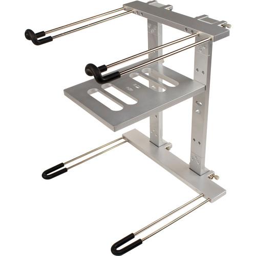 Ultimate Support JS-LPT400 Aluminum Double-Tier Laptop/DJ Stand