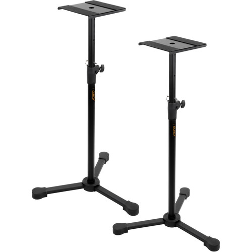 """B&H Photo Video Studio Monitor Stands Kit with 1/4"""" TRS to XLR Cables"""