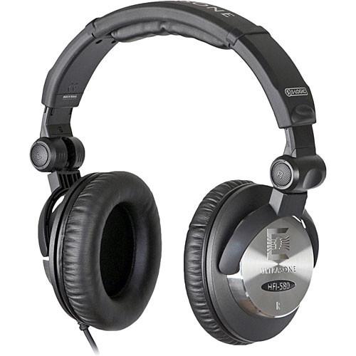 Ultrasone HFI-580 Closed-Back Stereo Headphones