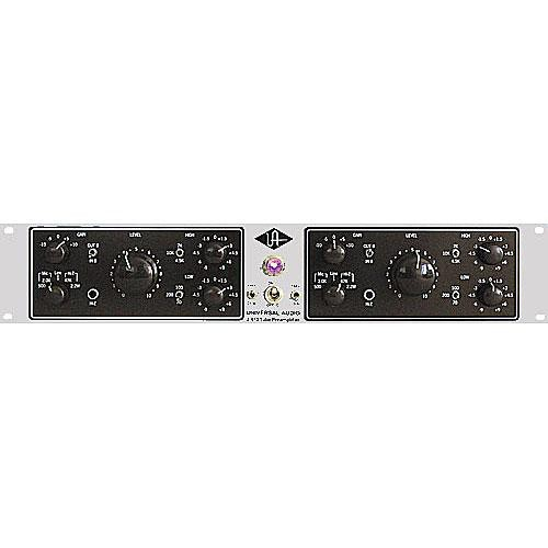 Universal Audio 2-610 Microphone Preamplifier (Silverface)