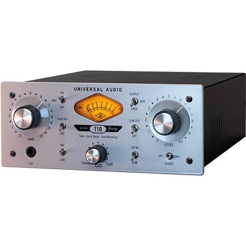 Universal Audio 710 Twin-Finity - Microphone/Line Preamplifier