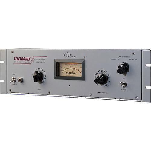 Universal Audio Teletronix LA-2A Classic Leveling Amplifier - Exacting Recreation of Original LA-2A Hardware Unit