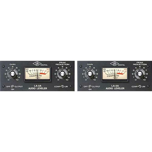 Universal Audio LA-3AD Dual Unit Audio Leveler