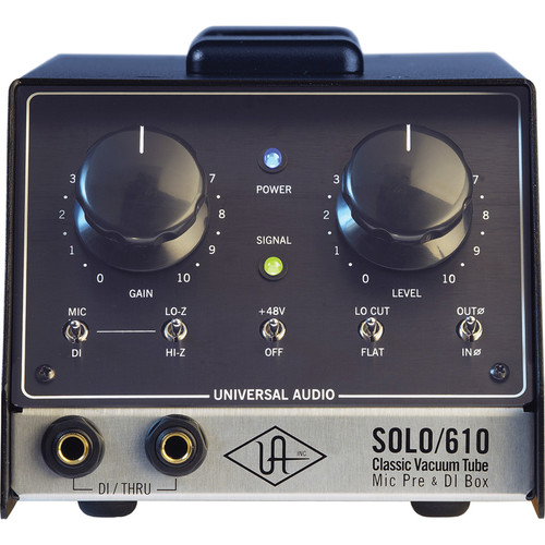 Universal Audio SOLO/610 Microphone Preamplifier