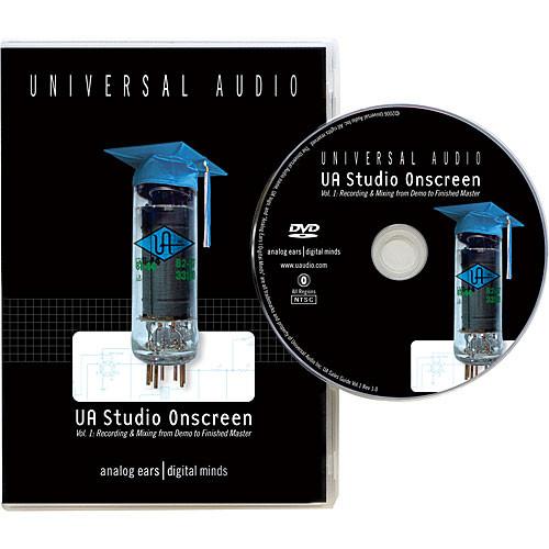 Universal Audio DVD: UA Studio Onscreen Volume 1 (NTSC)