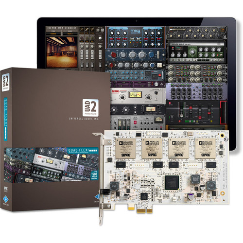Universal Audio UAD-2 Quad Flexi - PCIe DSP Card