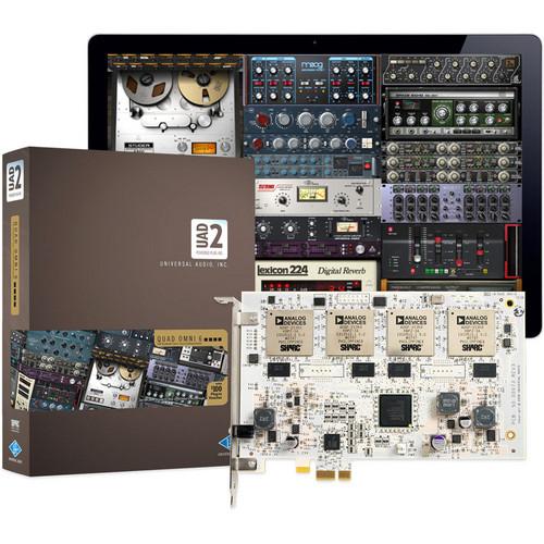 Universal Audio UAD-2 QUAD Omni 6 DSP Accelerator Package