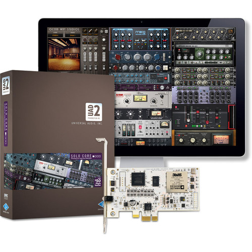 Universal Audio UAD-2 Solo - PCIe DSP Card