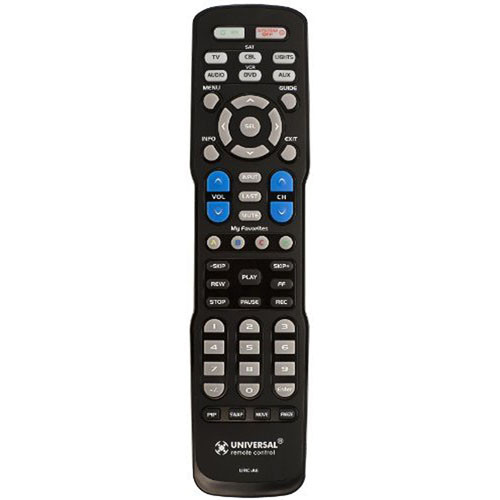 Universal Remote URC-A6 Pre-Programmed Learning Remote
