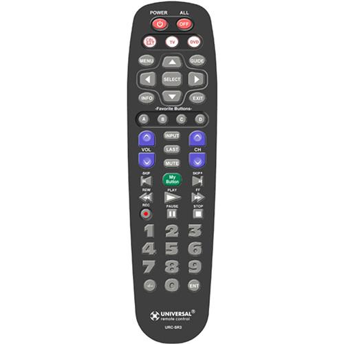 Universal Remote SR3 Remote Control