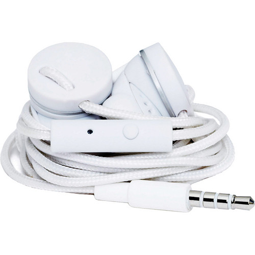 Urbanears Medis Stereo Earbud Headphones (True White)