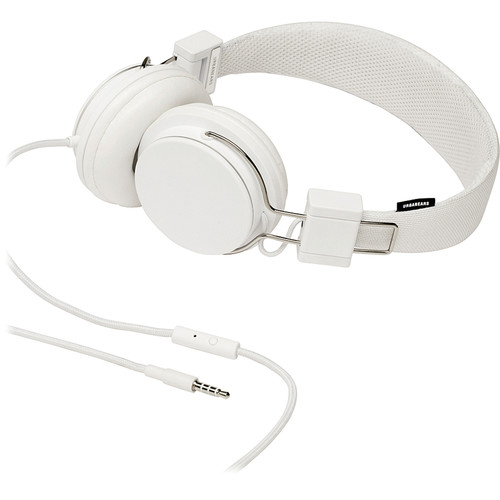 Urbanears Plattan On-Ear Stereo Headphones (True White)