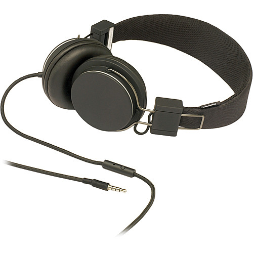 Urbanears Plattan On-Ear Stereo Headphones (Black)