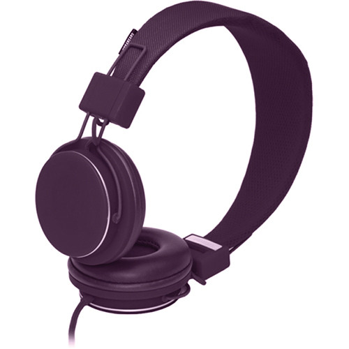 Urbanears Plattan Plus On-Ear Stereo Headphones (Aubergine)
