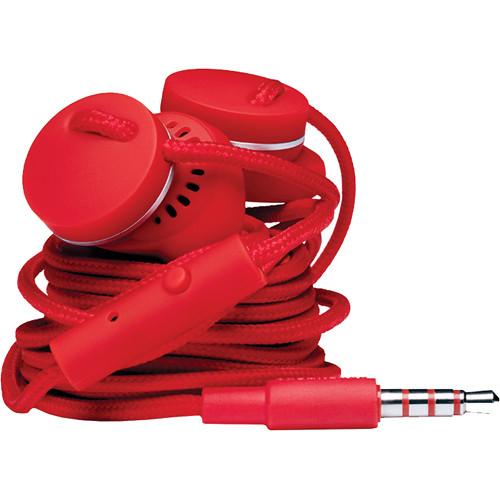 Urbanears Medis Stereo Earbud Headphones (Tomato)
