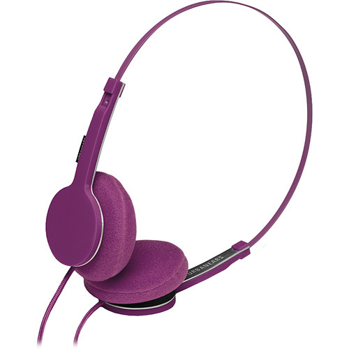Urbanears Tanto Compact On-Ear Stereo Headphones with Mic and Remote (Grape)