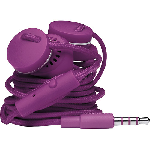 Urbanears Medis Stereo Earbud Headphones (Grape)