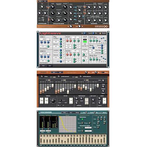 Use Audio 4PLG Plugiator 4-Synth Plug-in Bundle