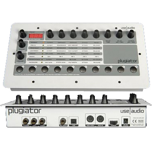 Use Audio The Plugiator - Plug-In Based Table Top Synthesizer