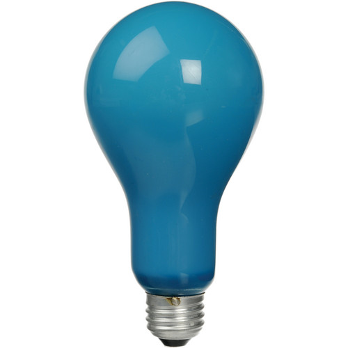 Ushio BCA Incandescent Photoflood Lamp - 250W / 115-120V (Blue)