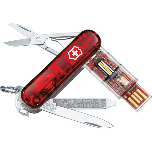 Victorinox Swiss Army Presentation Master USB 2.0 Flash Drive - 64GB