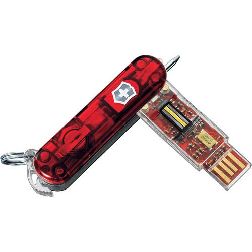 Victorinox Swiss Army Secure Flight Flash USB 2.0 Drive - 32GB