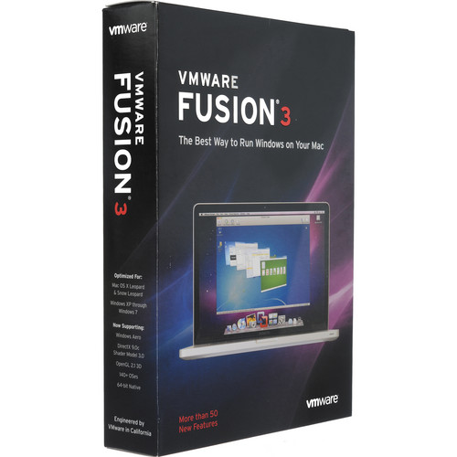 VMware Fusion 3 Software for Mac OS X