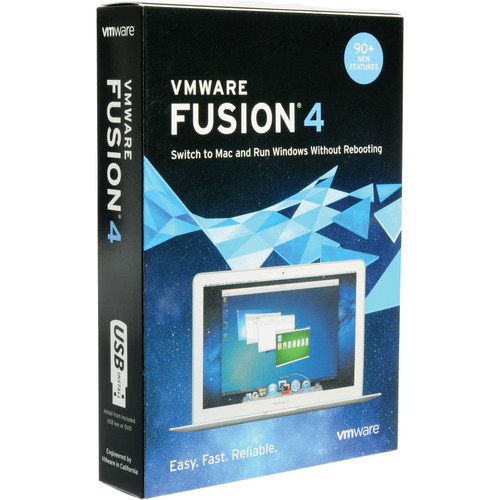 VMware VMware Fusion 4 Software for Mac OS X