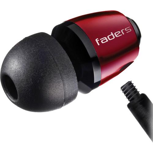 V-MODA Faders VIP Tuned Earplugs (Rouge)