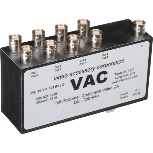 Vac 1x8 Composite Video Distribution Amplifier