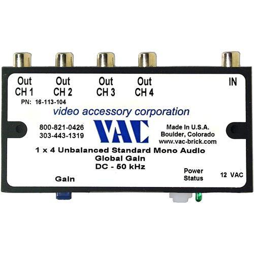 Vac 16-113-104 Unbalanced Mono Audio Distribution Amplifier