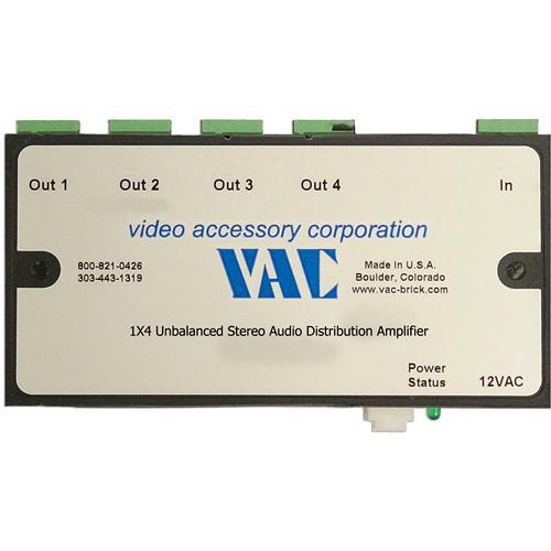 Vac 16-121-504 Unbalanced Stereo Audio Distribution Amplifier