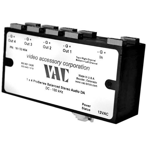 Vac 16-131-604 12VAC Brick Power Supply