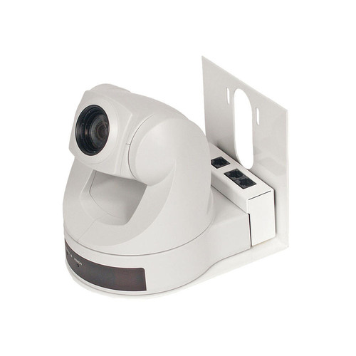 Vaddio Thin Profile Wall Mount Bracket for D70 (White)
