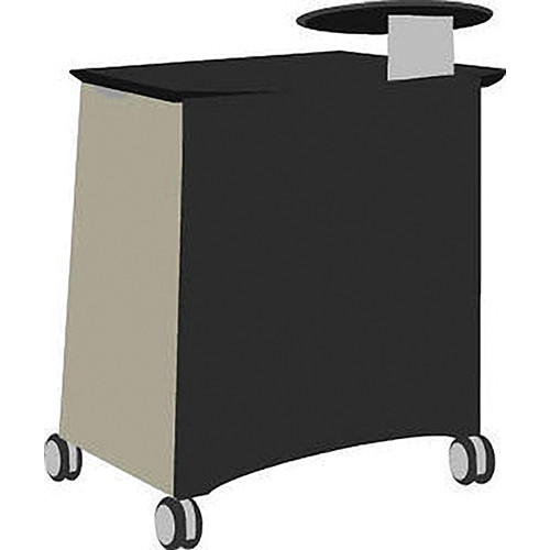 Vaddio Instrukt Lectern with Casters (Gray/Black)