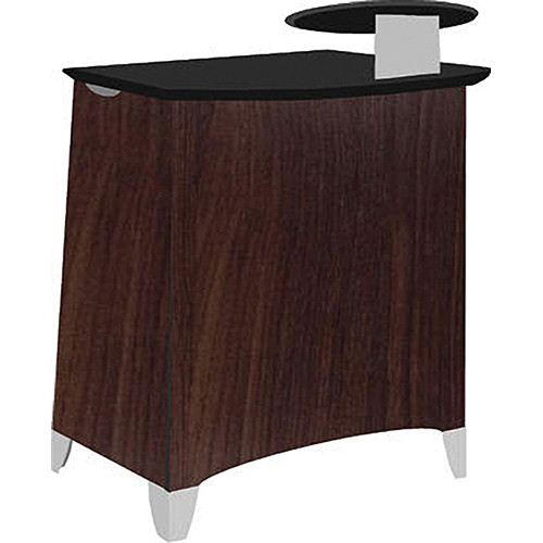 Vaddio Instrukt Lectern with Legs (Assembled, Oiled Cherry)