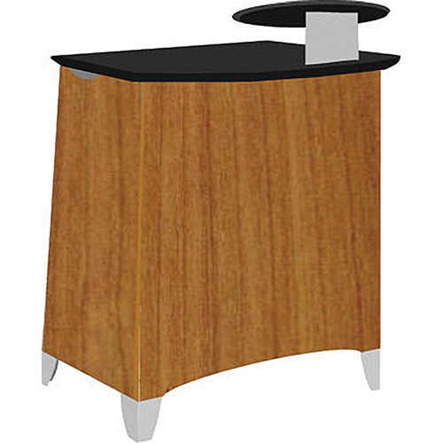 Vaddio Instrukt Lectern with Legs (Assembled, Kona Blend)