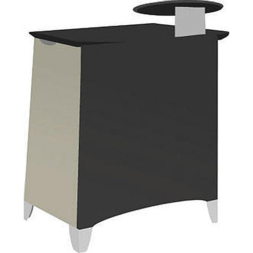 Vaddio Instrukt Lectern with Legs (Assembled, Gray/Black)