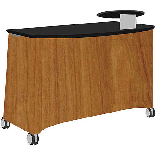 Vaddio Instrukt Teaching Station with Casters (Kona Blend)