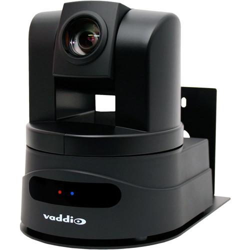 Vaddio WallView HD-19 PTZ Camera (Black) with Quick-Connect DVI/HDMI SR Interface