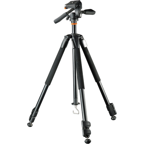 Vanguard Alta+ 203AP 3-Section Aluminum Tripod with PH-12 3-Way Pan Head