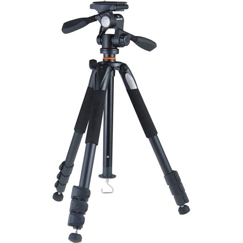 Vanguard Alta+ 264AP Aluminum-Alloy Tripod Kit with PH-32 3-Way, Pan-and-Tilt Head