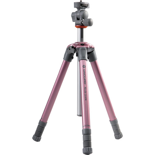 Vanguard Nivelo 204PK Tripod w/Rotating Tilt Head (Pink)