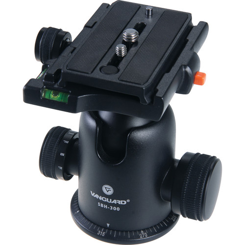 Vanguard SBH-300 Ball Head W/2 Bubble Levels