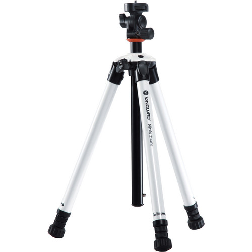 Vanguard Nivelo 214WH Tripod With Rotating Tilt Head (White)