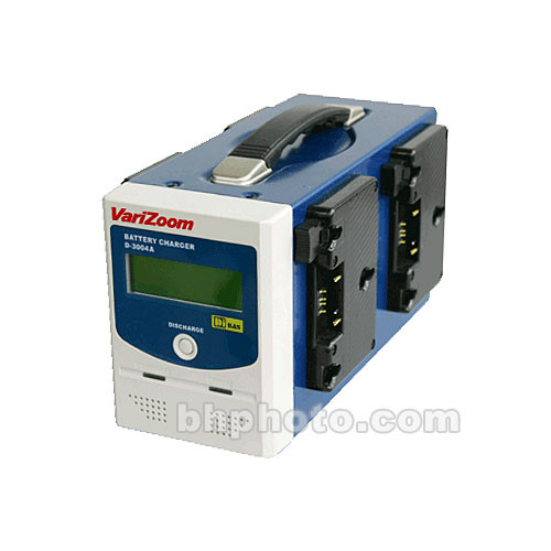 VariZoom D-3004A Independent Battery Charger